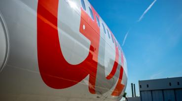 Imagen de un avión GOL