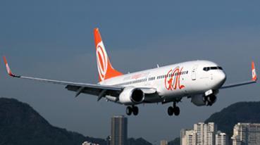 1º voo comercial do Boeing 737-800 SFP