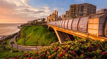 Nova rota para Lima