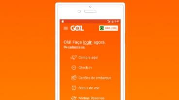 Lançamento do novo aplicativo da GOL