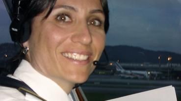 The first female pilot