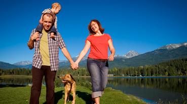 Família e seu pet