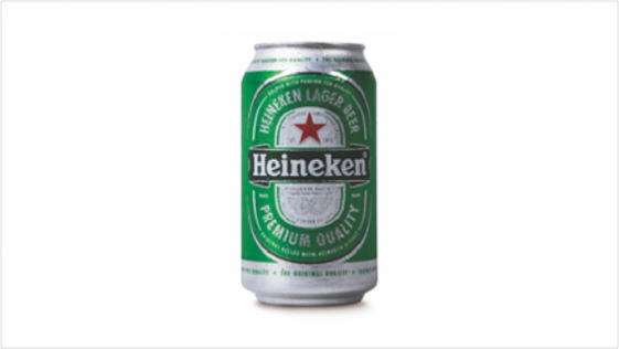 Image of a Heineken beer