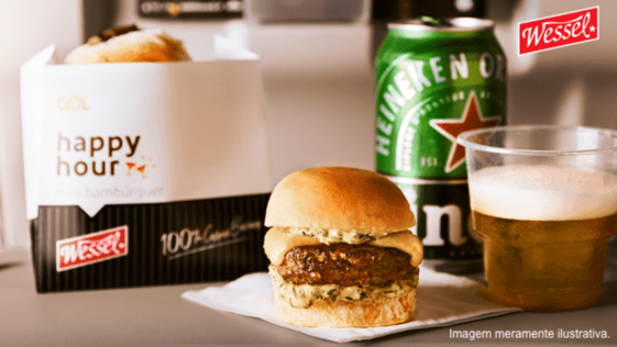 Wessel mini Burger and a cold beer to help you relax!